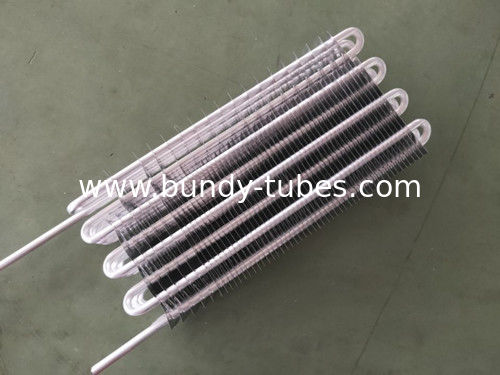 Aluminum Plate Evaporators No Frost Fin Type Evaporator Meet Roth For Cold Room