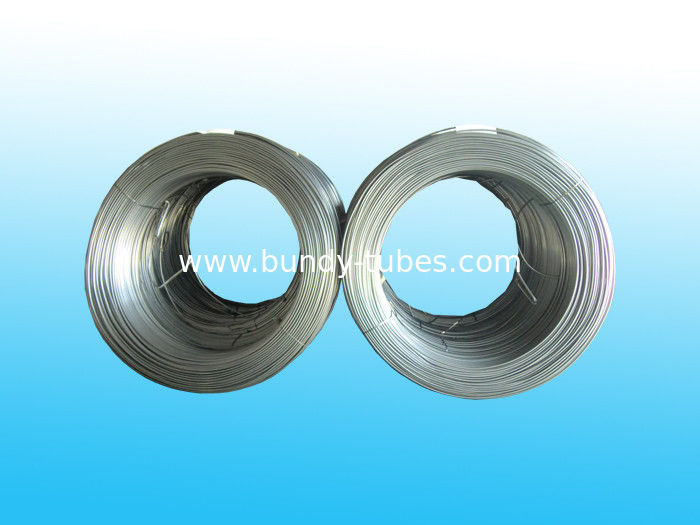 High Frequency Galvanized Steel Tube 7.94mm X 0.65 mm for refrigerator