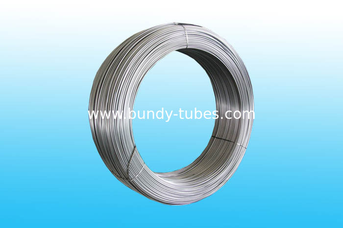 Steel Bundy Tube / Plain Tubes For Heaters 4.76mm X 0.7 mm