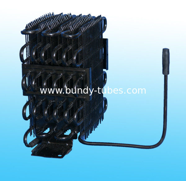 Built-In Wire Tube Condenser / Electroplates Condenser For Freezer