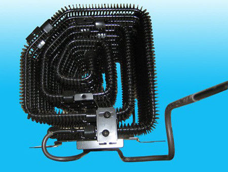 Condensateur externe de tube de fil avec le tube en acier enduit d'en cuivre