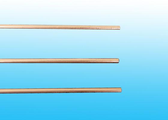 Les tubes enduits de cuivre de compresseur, double soudure de mur siffle 3,6 * 0,5 millimètres