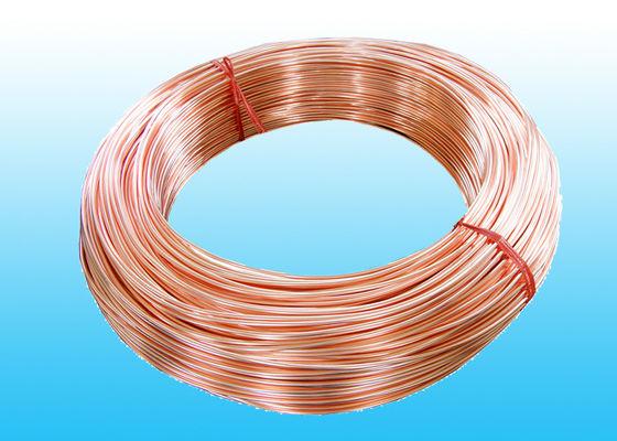 Le cuivre à faible teneur en carbone a enduit le tube de Bundy 6.35mm x 0,6 millimètres GB/T 24187-2009